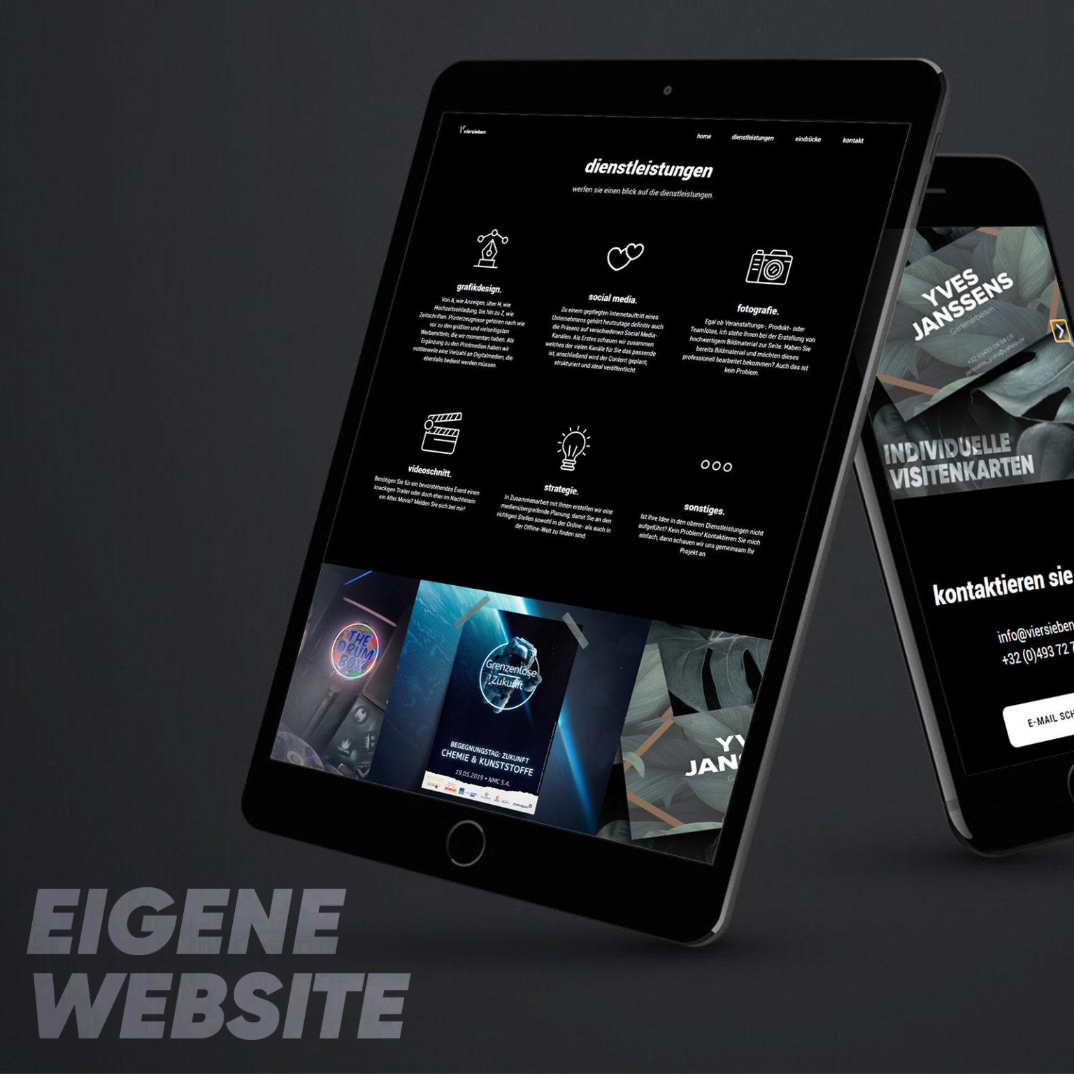 viersieben Website
