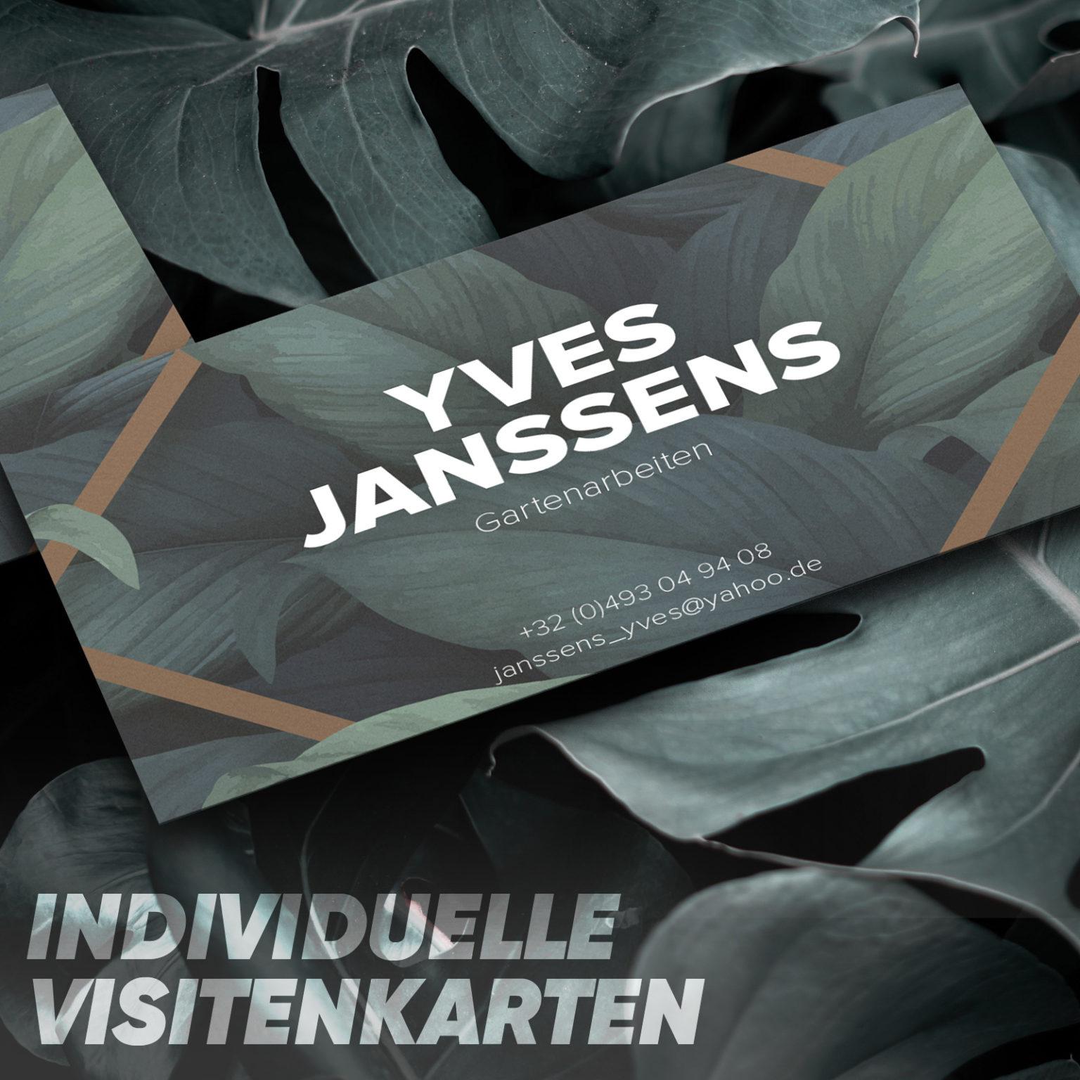 Visitenkarte Yves Janssens